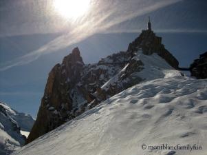 Aiguille du Midi from Vallée Blanche © montblancfamilyfun.com