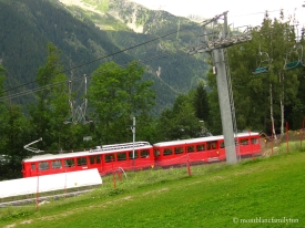 Views of the Montenvers Train - Chamonix Parc d'Attractions playground © montblancfamilyfun
