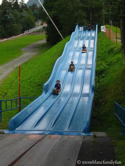 Toboggan - Chamonix Parc d'Attractions playground© montblancfamilyfun.com