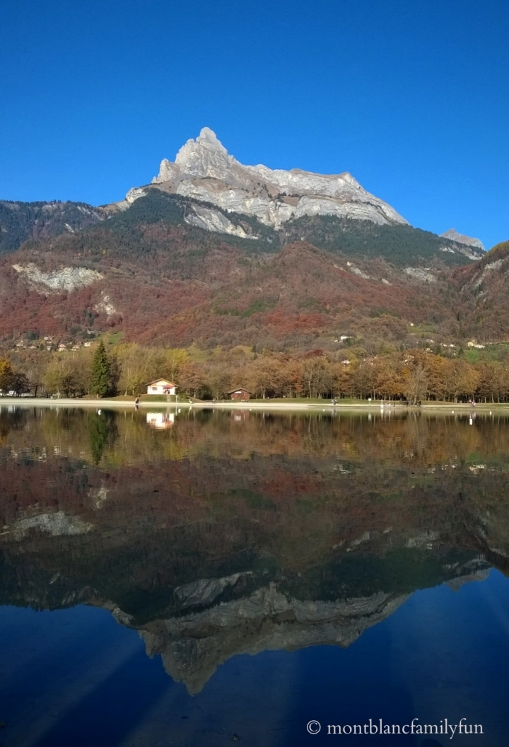 Reflections in the Lac de Passy