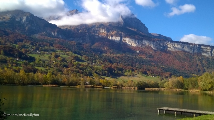 Lac des Ilettes - autumn hues