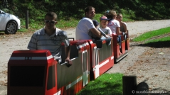 Le Petit Train du Parc Thermal © montblancfamilyfun