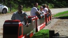 Le Petit Train du Parc Thermal © montblancfamilyfun.com