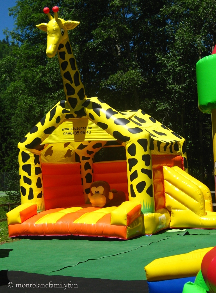 Laurent's bouncy castles