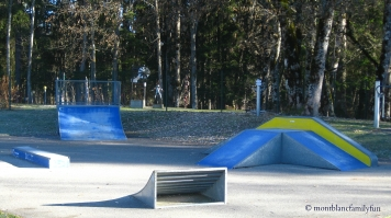 Skate Park at Base de Loisirs des Belles © montblancfamilyfun
