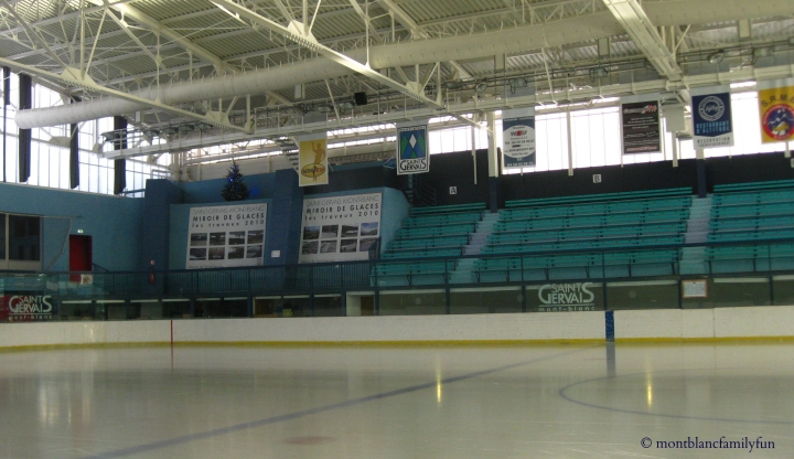 Saint-Gervais ice-skating rink © montblancfamilyfun.com