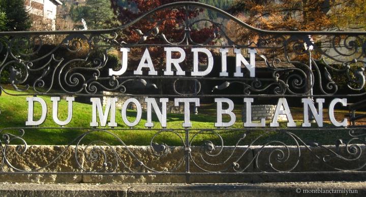 St Gervais' Jardin du Mont Blanc