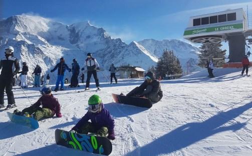 Snowboarding en famille © C. Messner
