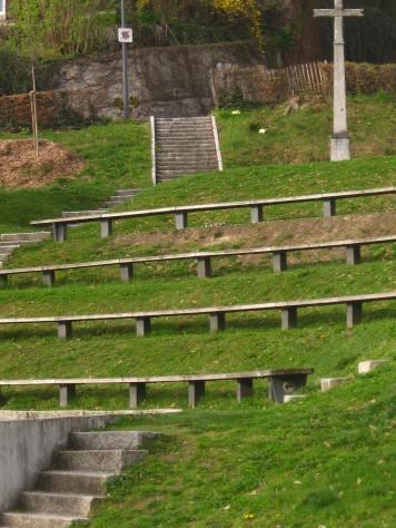Small amphitheatre overlooking Pré-de-Foire © montblancfamilyfun
