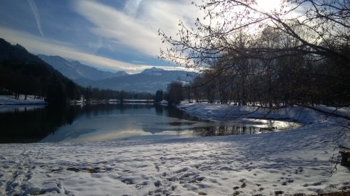 Lacs des Ilettes - winter light © montblancfamilyfun.com