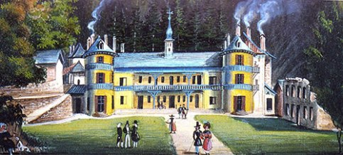 Thermal Baths 19th century © Thermes de Saint-Gervais Mont-Blanc