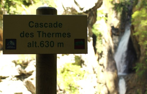 Cascade des Thermes © montblancfamilyfun.com
