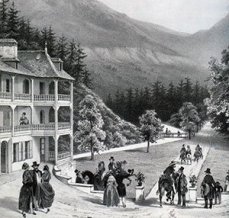 Palrc Thermal 19th century © Thermes de Saint-Gervais Mont-Blanc
