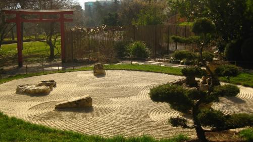 Japanese gardens in Geneva's Jardin Botanique © montblancfamilyfun