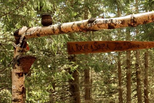 La Roche à Soupla © montblancfamilyfun.com