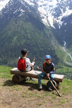 Parc Animalier de Merlet - taking time to sit! © montblancfamilyfun.com