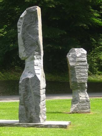 Denis Monfleur sculptures in Parc Thermal © montblancfamilyfun.com