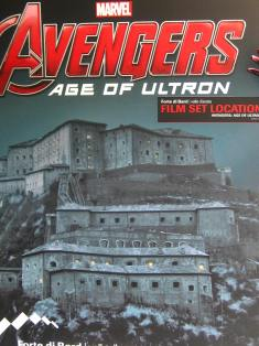 The Avengers at the Forte di Bard © montblancfamilyfun.com
