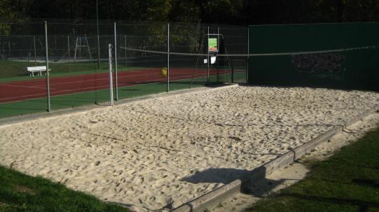 Base de Loisirs des Belles - volleyball © montblancfamilyfun.com