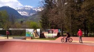 Sallanches Skatepark © montblancfamilyfun