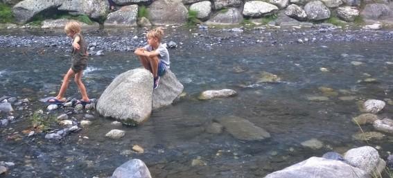 Riverside splash in Sallanches© montblancfamilyfun.com
