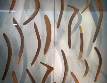 Boomerang display at the MEG © photo from montblancfamilyfun