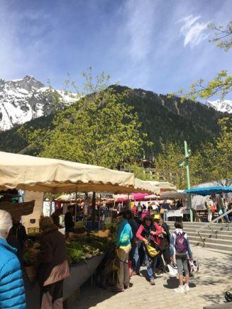 Marché de Chamonix © montblancfamilyfun