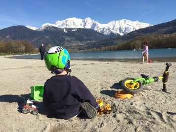 Lac de Passy and Mont Blanc© montblancfamilyfun