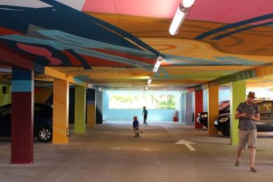 2KM3 Saint-Gervais-les-Bains car park © montblancfamilyfun