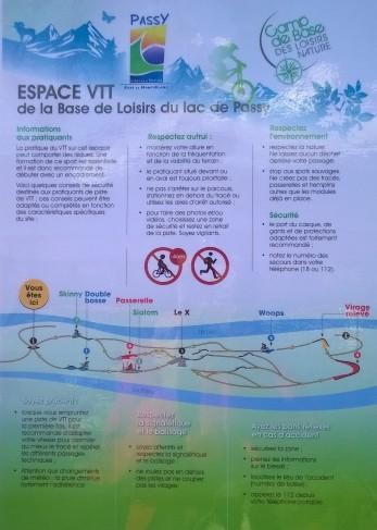 Espace VTT at Lac de Passy © montblancfamilyfun