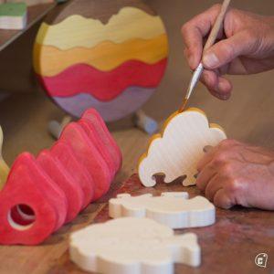 Children's toys from «Nature en Bois» © chaletdescreateurs.com / «Nature en Bois»