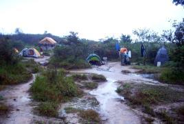 Flooded campsite (Roraima, Venezuela) © montblancfamilyfun.com