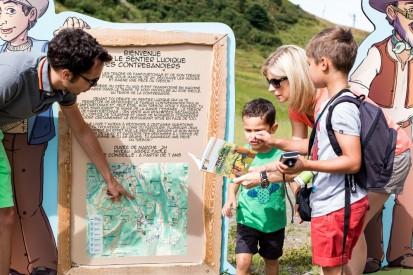 Chemin des Contrebandiers © Praz-sur-Arly Tourisme