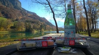 Lacs des Ilettes sushi picnic © montblancfamilyfum.com