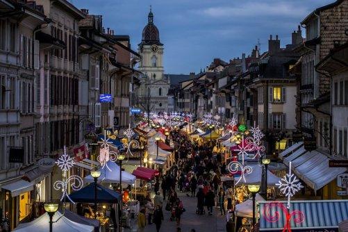 Marché de Noël de Morges © morges.ch