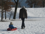 Lac de Passy winter walk © montblancfamilyfun.com