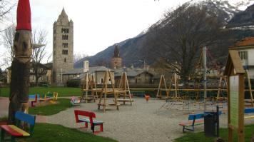 Aosta playground © montblancfamilyfun.com
