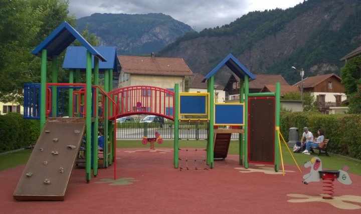 Chedde Playground © montblancfamilyfun.com