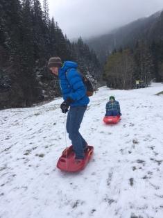 I will sledge! © montblancfamilyfun.com