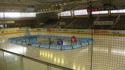 Chamonix's indoor ice-skating rink© montblancfamilyfun.com