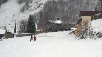 Le Tour December snow © montblancfamilyfun.com