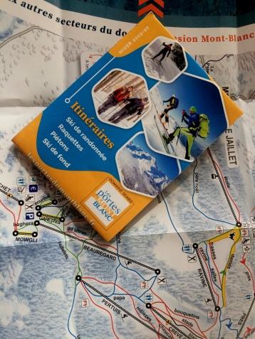 Ski de fond, ski rando and raquettte trails Combloux © montblancfamilyfun.com