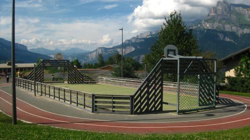 Combloux multi-sport terrain © montblancfamilyfun
