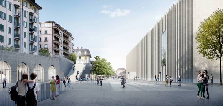 Designs for the new Musée Cantonal des Beaux Arts 2019 © Musée Cantonal des Beaux Arts