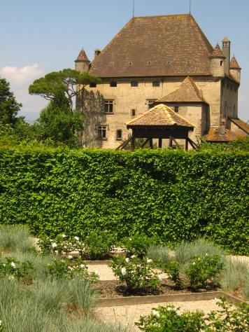 Le Jardin des 5 Sens in Yvoire © montblancfamilyfun.com