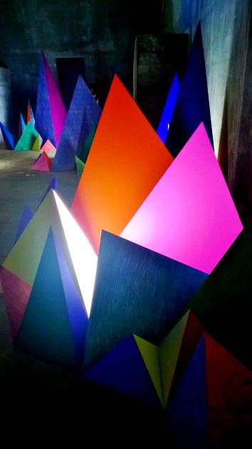 « Cosmicisme » in Pile Pont Expo © montblancfamilyfun