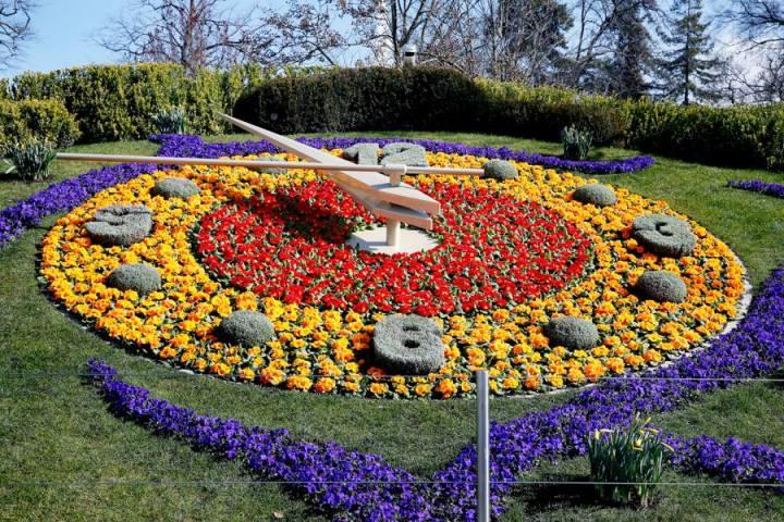 Floral clock © Ville de Genève