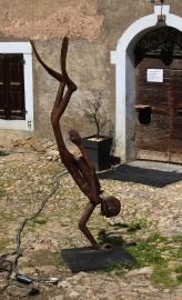 Megève sculptures © montblancfamilyfun.com