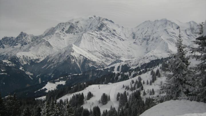 Saint-Gervais-les-Bains domaine skiable © montblancfamilyfun.com