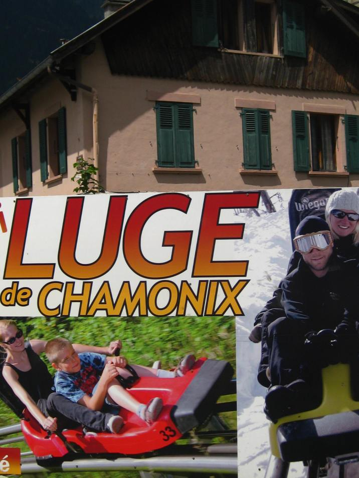 Chamonix Luge Alpine-Coaster © montblancfamilyfun.com